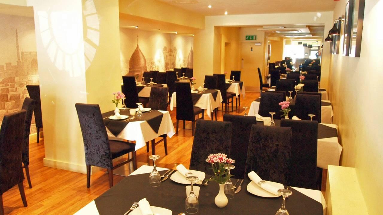 empire indian restaurant interior